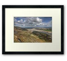 Slieve Carran View Framed Print