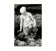 Sculpture, Miramare Art Print