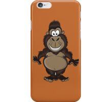 Funny big gorilla iPhone Case/Skin