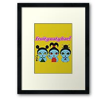 Fruity Oaty Bar! Shirt (Firefly/Serenity) Framed Print