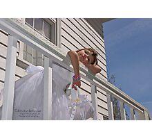 Flowergirl...Someday! Photographic Print