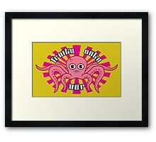 "Fruity Oaty Bar! ""OCTOPUS"" Shirt (Firefly/Serenity) Framed Print"