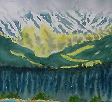 Juneau Landscape by Warren  Thompson