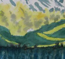 Juneau Landscape Sticker