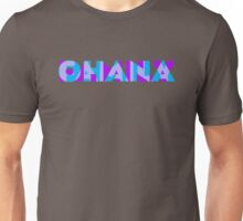 Ohana/Family - Blue & Purple Unisex T-Shirt