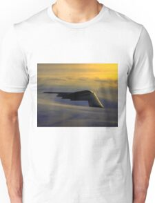 B-2 Spirit Bomber USAF digital painting Unisex T-Shirt