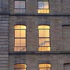 Salts Mill windows by lukasdf