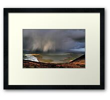 Rain Above Rossbeigh Framed Print