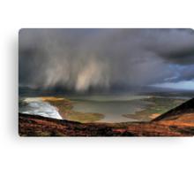 Rain Above Rossbeigh Canvas Print