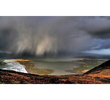 Rain Above Rossbeigh Photographic Print