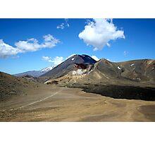 Three Volcanoes Photographic Print