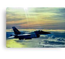 F-16 Fighting Falcon Digital Painting Canvas Print