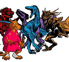 Splinter & The Raptors by SpoilersCo