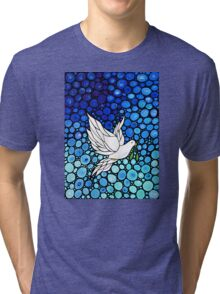 Peaceful Journey - Hope Art Tri-blend T-Shirt