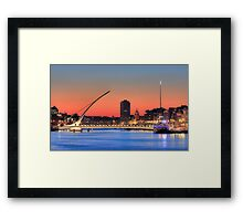 Samuel Becket Bridge Framed Print
