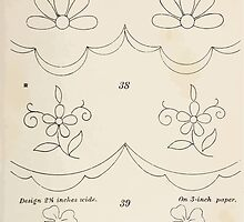 Briggs & Company Patent Transferring Papers Kate Greenaway 1886 0013 Floral and Clover Borders by wetdryvac
