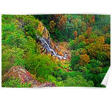 Waterfall, Leura, Blue Mountains Poster