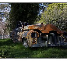 Dreams of what was, Fx Holden, Marysville Victoria by PhotoButterfly