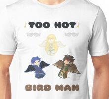 Derp Emblem: Too Hot, Bird Man Shirt Unisex T-Shirt