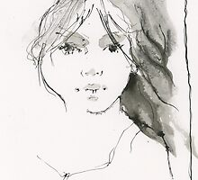 ink study while waiting by djones