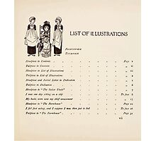 Mrs Leicester's School Charles & Mary Lamb with Minifred Green 18xx 0013 Headpiece to List of Illustrations Photographic Print