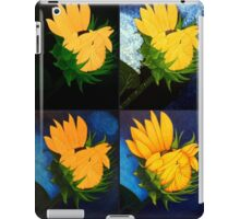 Evolution of a sunflower iPad Case/Skin