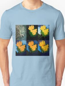 Evolution of a sunflower Unisex T-Shirt