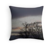 An Autumn Dusk Throw Pillow