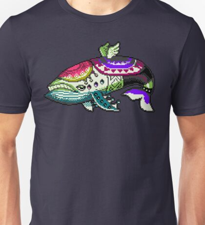 The Windfish (Zelda, Link's Awakening) - Gameboy Color Sprite Unisex T-Shirt