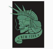 New York - Statue of Libery Skull by JamesShannon