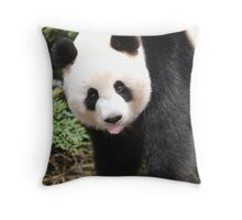Cheeky?  Who Me?  Cute!! Throw Pillow