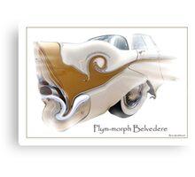 Plym Morph Belvedere Canvas Print