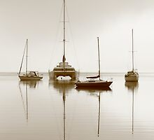Calm Waters - Eastern Beach Geelong by Graeme Buckland