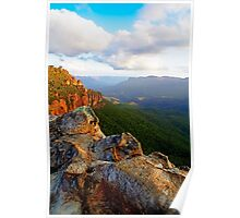 Blue Mountains Sunset, Katoomba Poster