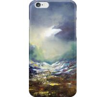 The valley of the shadow iPhone Case/Skin