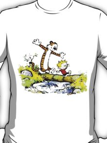 Calvin and hobbes funny time T-Shirt