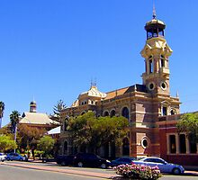 Main street Broken Hill by liaimages
