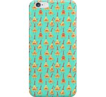 Bill Cipher Pattern - Light iPhone Case/Skin