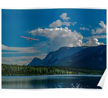 Take off from Atlin Lake Poster