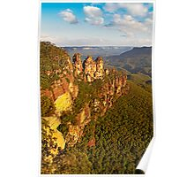 The Three Sisters, Katoomba, Blue Mountains Poster