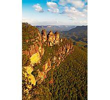 The Three Sisters, Katoomba, Blue Mountains Photographic Print
