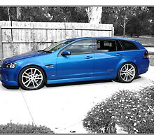 Holden SS VE Sportswagon, The Aussie Males Boy Toy by PhotoButterfly