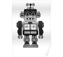 Retro Robot Poster