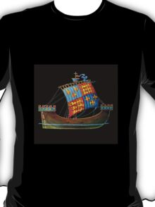 British ship 15th cetury T-Shirt