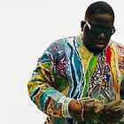 Notorious Big Counting Money by Edward  Landstreet