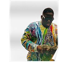 Notorious Big Counting Money Poster