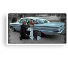 '59 Pontiac Star Chief, The Wedding Car Canvas Print