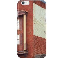 Elizabethton, Tennessee, Ghost Mural, 2008 iPhone Case/Skin