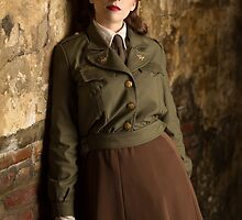 Tanya Wheelock as Peggy Carter (11.1 - Photography by Sean William / Dragon Ink Photography) by mostdecentthing