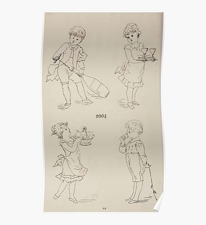 Briggs & Company Patent Transferring Papers Kate Greenaway 1886 0230 Poster
